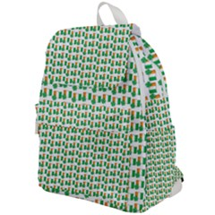 St Patricks Day Background Ireland Top Flap Backpack