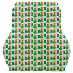 St Patricks Day Background Ireland Car Seat Velour Cushion
