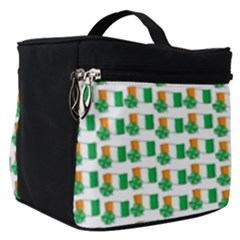 St Patricks Day Background Ireland Make Up Travel Bag (small)