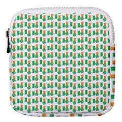 St-patricks Day Background Ireland Mini Square Pouch by HermanTelo