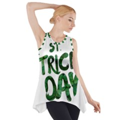 St Patrick s Day Side Drop Tank Tunic