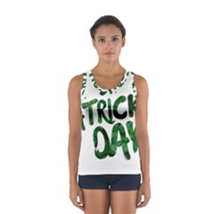St Patrick s Day Sport Tank Top  by HermanTelo
