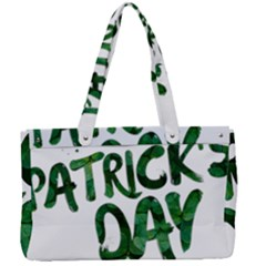 St Patrick s Day Canvas Work Bag by HermanTelo