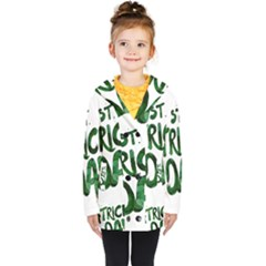 St Patrick s Day Kids  Double Breasted Button Coat by HermanTelo