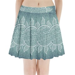 Sun Abstract Summer Pleated Mini Skirt by HermanTelo