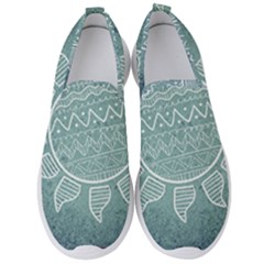 Sun Abstract Summer Men s Slip On Sneakers by HermanTelo