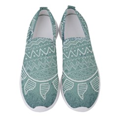 Sun Abstract Summer Women s Slip On Sneakers by HermanTelo