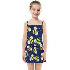 Textured Bee Kids  Summer Sun Dress