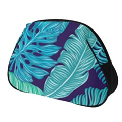 Tropical Greens Leaves Banana Full Print Accessory Pouch (small) by HermanTelo