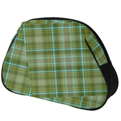 Vintage Green Plaid Full Print Accessory Pouch (big)