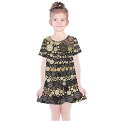 Vintage Style Kids  Simple Cotton Dress
