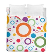 Wallpaper Circle Duvet Cover Double Side (full/ Double Size)