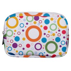 Wallpaper Circle Make Up Pouch (small) by HermanTelo
