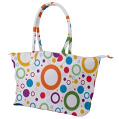 Wallpaper Circle Canvas Shoulder Bag