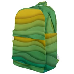 Waves Texture Classic Backpack