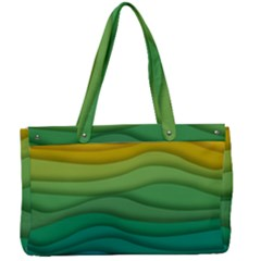 Waves Texture Canvas Work Bag