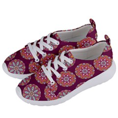 Modern Mandala Design Women s Lightweight Sports Shoes by tarastyle