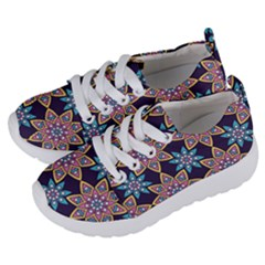 Modern Mandala Design Kids  Lightweight Sports Shoes by tarastyle