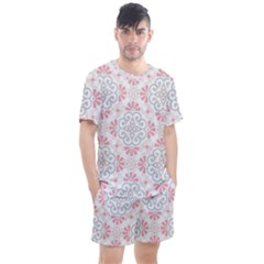 Modern Mandala Design Men s Mesh Tee And Shorts Set by tarastyle