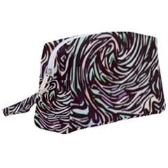Stained Glass Wristlet Pouch Bag (large)