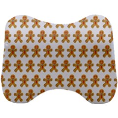 Gingerbread Men Head Support Cushion