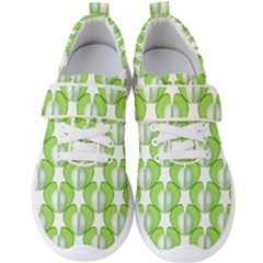 Herb Ongoing Pattern Plant Nature Men s Velcro Strap Shoes