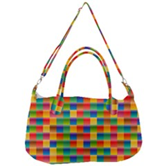 Background Colorful Abstract Removal Strap Handbag