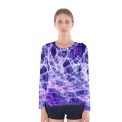 Abstract Space Women s Long Sleeve Tee by Bajindul