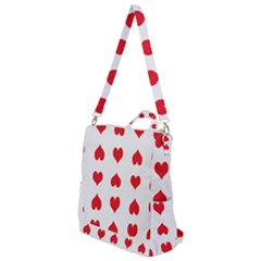 Heart Red Love Valentines Day Crossbody Backpack