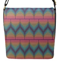 Pattern Background Texture Colorful Removable Flap Cover (s)