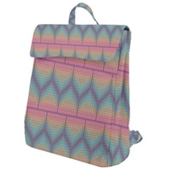 Pattern Background Texture Colorful Flap Top Backpack by Bajindul