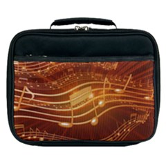 Music Notes Sound Musical Love Lunch Bag by Bajindul