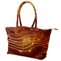 Music Notes Sound Musical Love Canvas Shoulder Bag