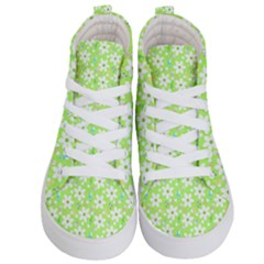 Zephyranthes Candida White Flowers Kids  Hi Top Skate Sneakers