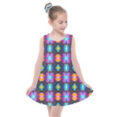 Squares Spheres Backgrounds Texture Kids  Summer Dress