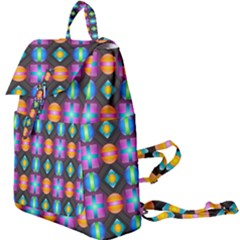 Squares Spheres Backgrounds Texture Buckle Everyday Backpack