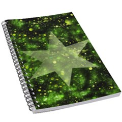 Star Blue Star Space Universe 5 5  X 8 5  Notebook