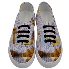 Painting Paint Landscape Nature Men s Classic Low Top Sneakers