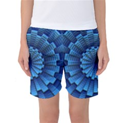 Pattern Background Texture Women s Basketball Shorts