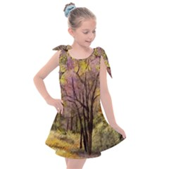 Outdoor Nature Natural Woods Kids  Tie Up Tunic Dress