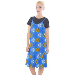 Pattern Sequence Motif Design Plan Flowers Camis Fishtail Dress