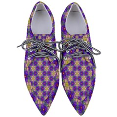 Background Wallpaper Pattern Pointed Oxford Shoes