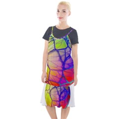 Isolated Transparent Sphere Camis Fishtail Dress
