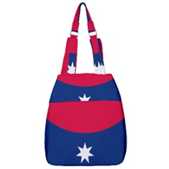 Proposed Australia Down Under Flag Center Zip Backpack