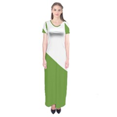 Proposed Koru Flag Of New Zealand Short Sleeve Maxi Dress by abbeyz71