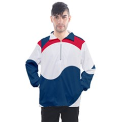 Government Emblem Of Government Of Republic Of Korea Men s Half Zip Pullover by abbeyz71