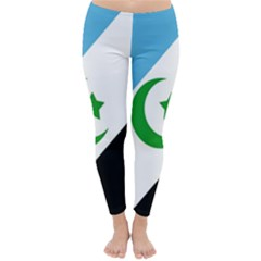 Flag Of Shabak People Classic Winter Leggings