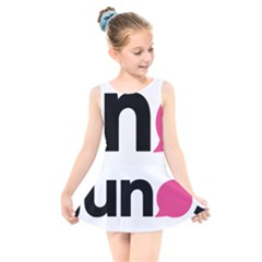 Logo Of Young Liberal Neos Kids  Skater Dress Swimsuit by abbeyz71