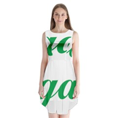 Logo Of Ashgabat Sleeveless Chiffon Dress   by abbeyz71