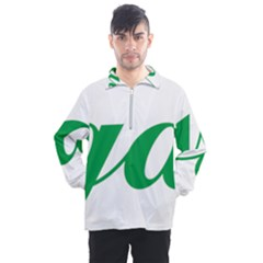 Logo Of Ashgabat Men s Half Zip Pullover by abbeyz71